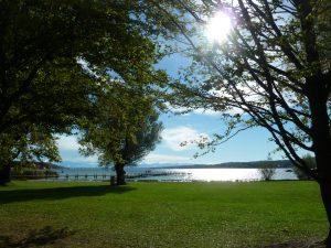 Sonnenblicke am Starnberger See!
